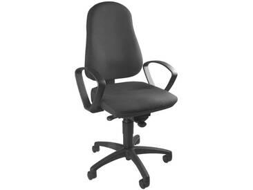 TOPSTAR Bürostuhl ohne Armlehnen »Balance 50«, grau, anthrazit
