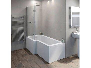 HOME DELUXE Badewanne »Elara«, in 2 Ausführungen, 85 cm x Wanne rechts, 170 cm, 170 cm