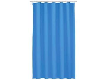 Kleine Wolke Duschvorhang »Uni«, blau, blau