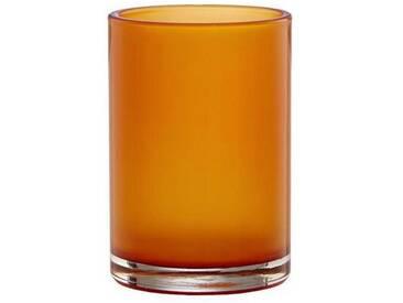 BUTLERS DELIGHT »Teelichthalter«, orange, Breite 6 x Tiefe 6 x