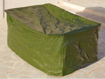 MERXX Schutzhülle Gartenmöbelset, (L/B/H) 155x210x105 cm, grün, 210 cm x 155 cm, grün