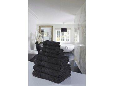 Emotion Handtuch Set »Uni«, mit großer Farbauswahl, grau, anthrazit