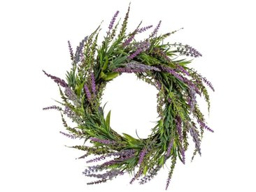 Gasper Kunstpflanze »Lavendelkranz«, Ø: 55 cm, lila, lila