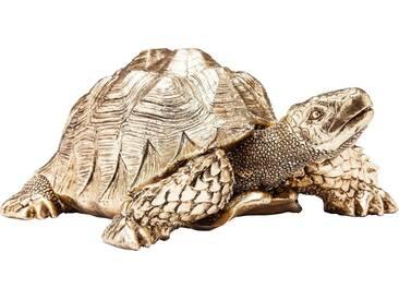 KARE Design Deko-Figur »Turtle«, goldfarben, Maße (B/T/H): 26/20/11 cm, goldfarben