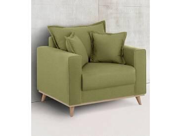 Home affaire Sessel »Edina«, im skandinavischem Stil, grün, grün