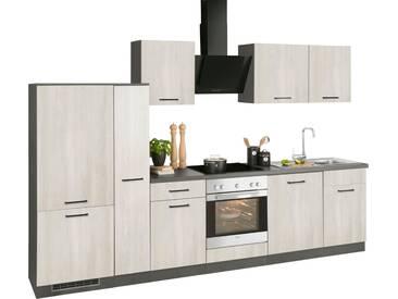 wiho Küchen Küchenzeile »Esbo«, ohne E-Geräte, Breite 310 cm, natur, Wilton Oak