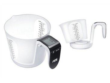 ADE Küchenwaage »KE-919 Franca«, weiß-schwarz