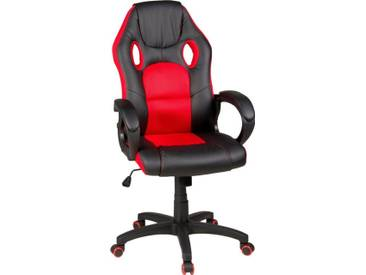 Duo Collection Chefsessel »Riley«, Gaming-Chair, rot, schwarz-rot