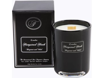 Fine Fragrance Company Duftkerze »London - Hampstead Heath«, schwarz, 10 cm hoch, schwarz