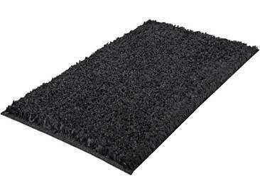 Kleine Wolke Badematte »Delight« , Höhe 24 mm, rutschhemmend beschichtet, fußbodenheizungsgeeignet, grau, 24 mm, schiefer