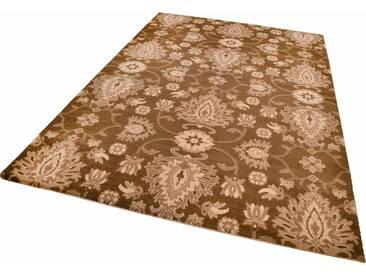 THEKO Teppich »Timeless 1«, rechteckig, Höhe 12 mm, braun, 12 mm, braun