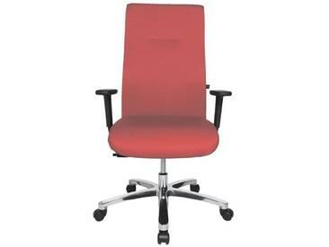TOPSTAR Schwerlast-Bürostuhl mit Armlehnen »Big Star 20«, rot, rot