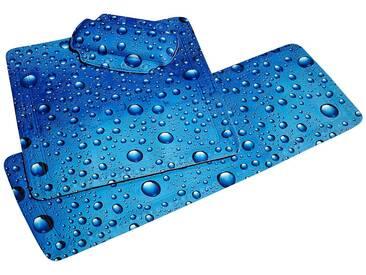 Kleine Wolke KLEINE WOLKE Nackenpolster »Bubble«, Badewannenkissen Nackenkissen, blau, blau