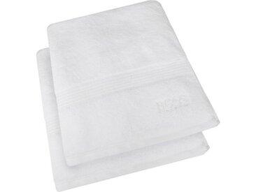 Boss Home Gästehandtuch »LOFT 2-tlg.«, 40 x 60 cm, weiß, Frottee, weiß