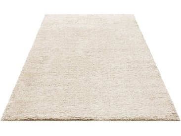 Bruno Banani Hochflor-Teppich »Shaggy Soft«, rechteckig, Höhe 30 mm, natur, 30 mm, natur
