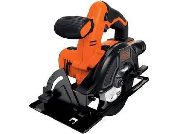 Black + Decker BLACK + DECKER Akku-Handkreissäge »BDCCS18N-XJ«, ohne Akku und Ladegerät, orange, Ohne Akku, orange