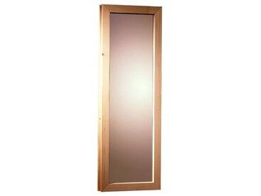 Karibu KARIBU Saunafenster , für Fassauna, BxH: 25x60 cm, natur, 25 cm x 60 cm, natur