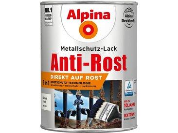 Alpina ALPINA Metallschutzlack »Anti-Rost Glänzend Weiß«, 3in1, 2,5 l, weiß, weiß