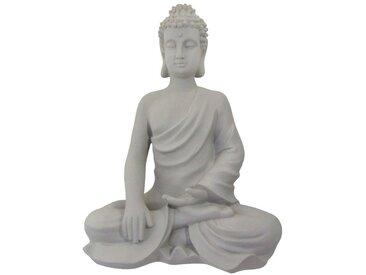 Creativ deco Buddha, grau, grau