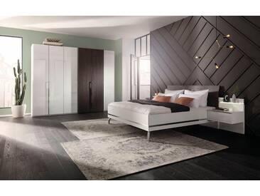 nolte® Möbel Schlafzimmer-Set »concept me 230«, mit Koffertüren, weiß, Komplettausführung inkl. Beleuchtung, Liegefläche 140x200, Schrankbreite 300, Liegefläche 140x200