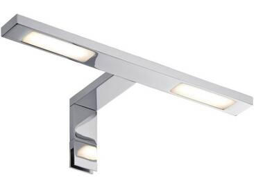 Paulmann Spiegelleuchte »Aufschrankleuchte LED Double Hook 2x3,2W Chrom«, 2-flammig, silberfarben, 2 -flg. /, chromfarben