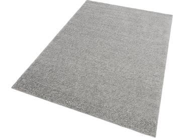 my home Hochflor-Teppich »Bodrum«, rechteckig, Höhe 30 mm, grau, 30 mm, grau