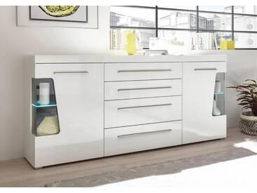 Bruno Banani Sideboard »GOBA«, Breite 217 cm, weiß, weiß
