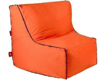 OUTBAG Sitzsack »Piece w/zipper Plus«, wetterfest, für den Außenbereich, BxT: 90x115 cm, orange, orange