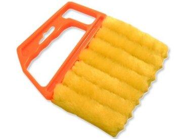 GARDINIA Reinigungsbürste, Jalousien, (1-tlg), gelb, 1 Teil, gelb-orange