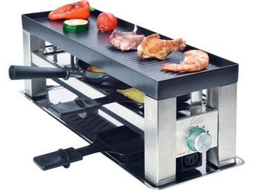 SOLIS OF SWITZERLAND Tischgrill Solis 4 in 1 Table Grill, 650 W, edelstahlfarben