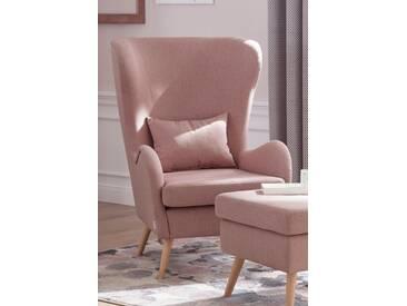 Guido Maria Kretschmer Home&Living Sessel »Salla«, rosa, rosé