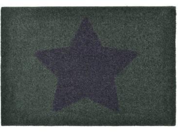 Zala Living Fußmatte »Stern«, rechteckig, Höhe 7 mm, rutschhemmend beschichtet, In- & Outdoor geeignet, grau, 7 mm, grau-lila