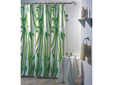 MSV Duschvorhang »Bambus«, Breite 180 cm, grün, grün