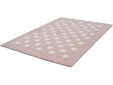 LALEE Teppich »Dream 701«, rechteckig, Höhe 16 mm, rosa, 16 mm, rosa-puder