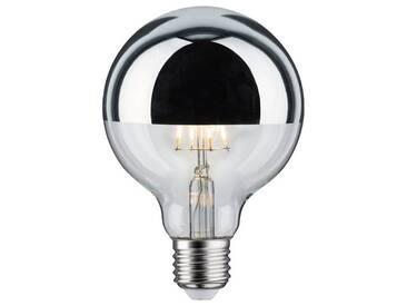 Paulmann »Globe 95 E27 Kopfspiegel Silber 230 V Warmweiß 5W« LED-Leuchtmittel, E27, 1 Stück, silberfarben, silberfarben