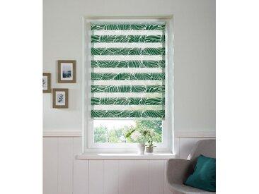 my home Doppelrollo »Wald«, Lichtschutz, ohne Bohren, grün, grün