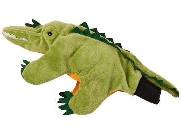 BUTLERS WILD GUYS »Handpuppe Krokodil«, grün, gruen