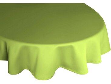 Wirth Tischdecke »NEWBURY«, rund, grün, Polyester,Baumwolle, grün