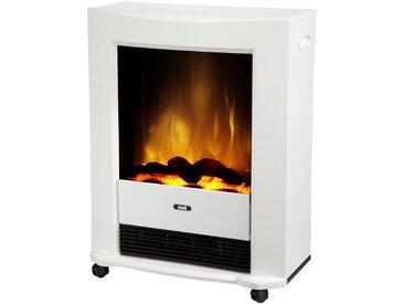 Glen Dimplex EWT Elektrisches Kaminfeuer »Bartok«, weiß, rollbar, mit Fernbedienung, weiß, weiß