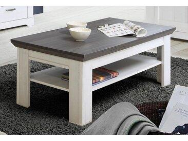 FORTE Couchtisch »GASPARO«, Breite 120 cm, grau, Tischplatte: Holzwerkstoff, schneeeiche/pinie grau