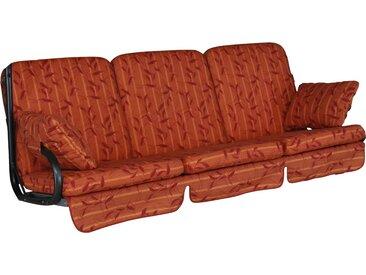 Angerer Freizeitmöbel ANGERER FREIZEITMÖBEL Hollywoodschaukelauflage »Comfort«, (L/B): 177x180 cm, orange, 1 Auflage, orange