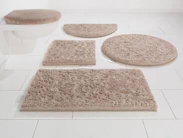 Guido Maria Kretschmer Home&Living Badematte »Jari« , Höhe 30 mm, braun, 30 mm, taupe