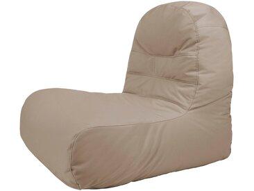 OUTBAG Sitzsack »Bridge Plus«, für den Außenbereich, BxT: 65x95 cm, braun, schlammfarben