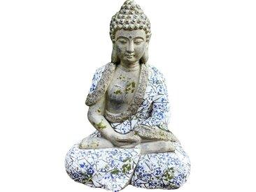 HTI-Line Gartendeko Mosaik »Buddha«, bunt, Bunt