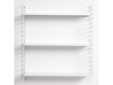 Metaltex metaltex Bücherregal mit 3 Ablagen, Metall, »Tomado«, weiß, weiß