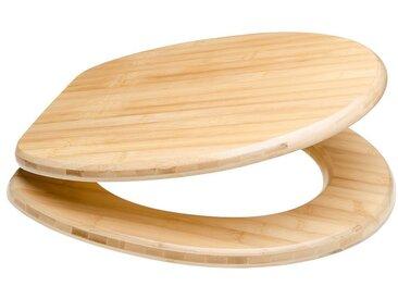 Sanilo SANILO WC-Sitz »Bambus«, mit Absenkautomatik, braun, braun