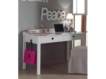 Vipack Furniture Schreibtisch »Amori«, weiß, weiß