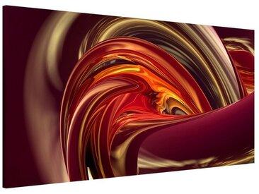 Bilderwelten Magnettafel Quer 37cm x 78cm »Fantastic Burning«, bunt, 37x78 cm, Farbig