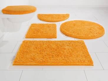 Guido Maria Kretschmer Home&Living Badematte »Jari« , Höhe 30 mm, orange, 30 mm, orange
