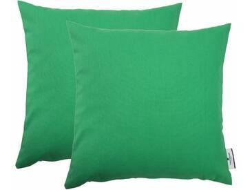 Tom Tailor Kissenhülle »Dove«, grün, Baumwolle, maigrün
